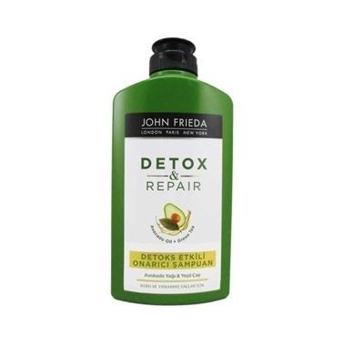 John Frieda  Detox and Repair Shampoo 250ml Renksiz
